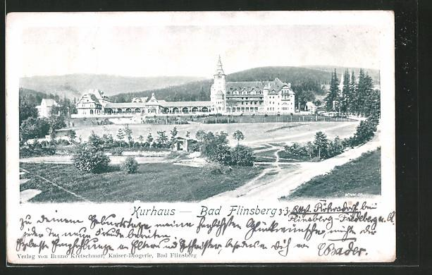 Panorama Domu Zdrojowego W 1903