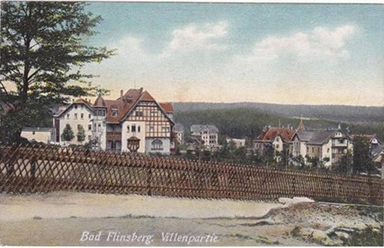 1906 płotek przy Parkowej, bez obecnego Eldorado kiedyś Fortuna II