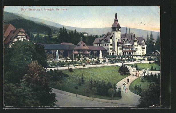 Tarasy Domu Zdrojowego I Ścieżki Zdrowia W 1914