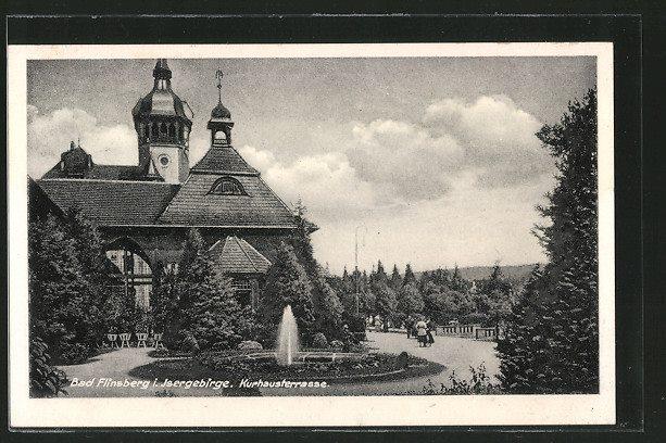 fontanna przy domie zdrojowym 1936