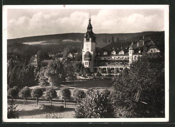 1941 rok dom zdrojowy
