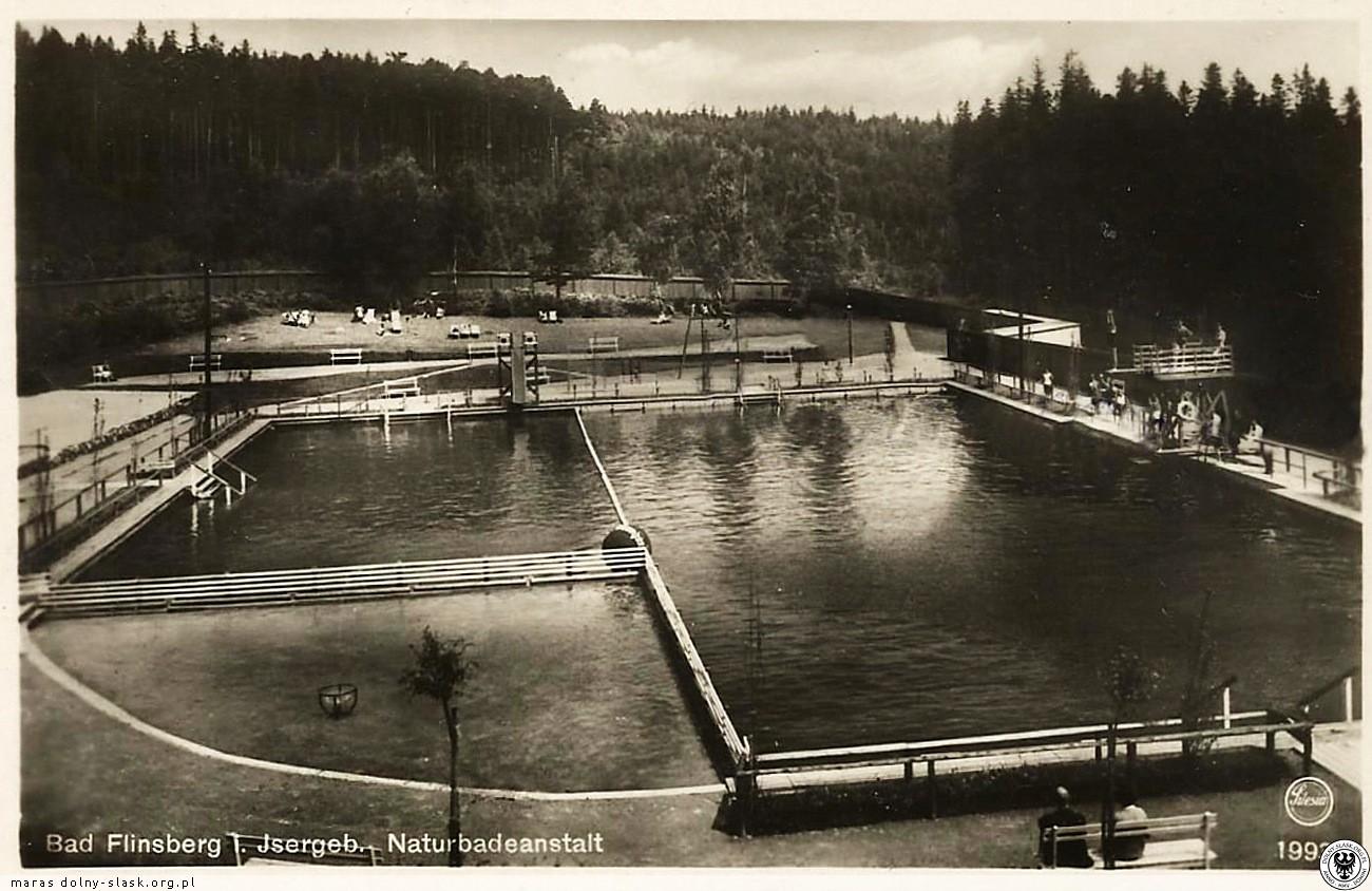 basen miejski pod koniec XX wieku
