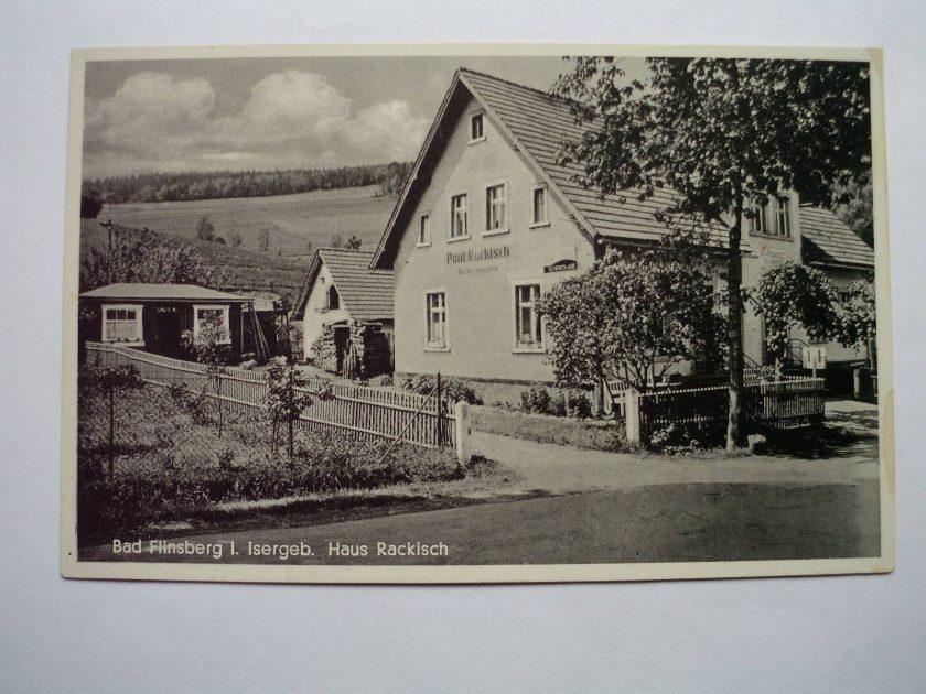 1935 ul. Grunwaldzka 11, Haus Rackisch backermeister
