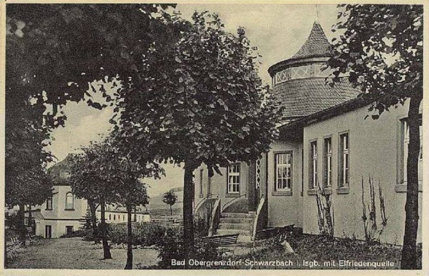 Bad Obergrenzdort ze źródłem Elfrydy