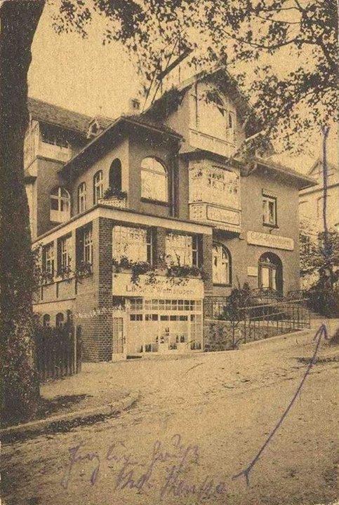 1915-1921 Przedszkole, hotel Hofjager i kawiarnia Ottona Dehmela