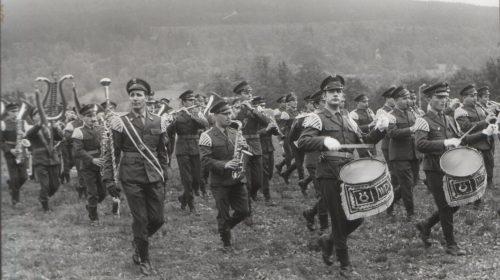 Przegląd orkiestr wojskowych 1969r