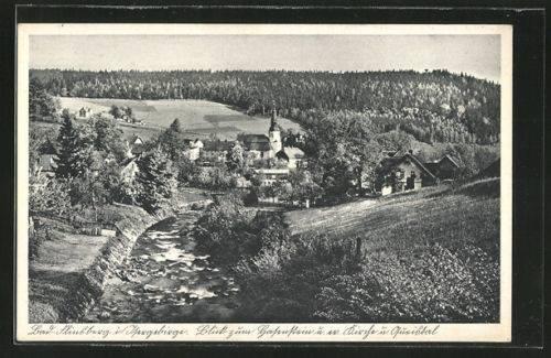 1909 - widok na Kościół