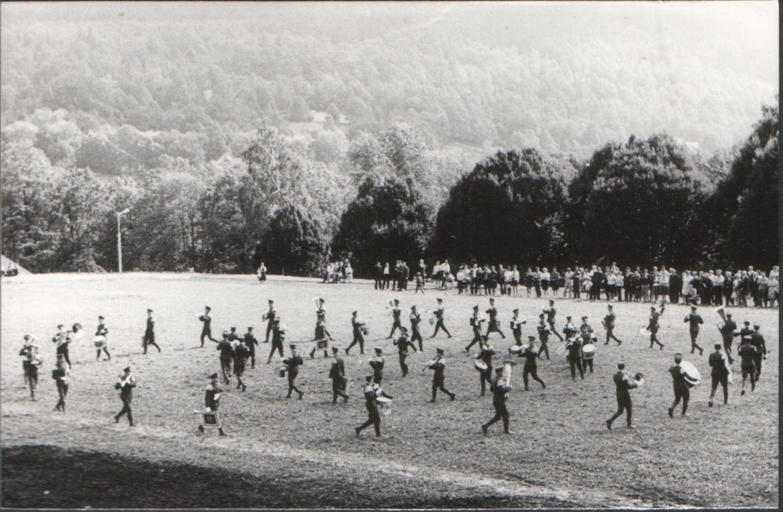 Przegląd orkiestr wojskowych 1970r