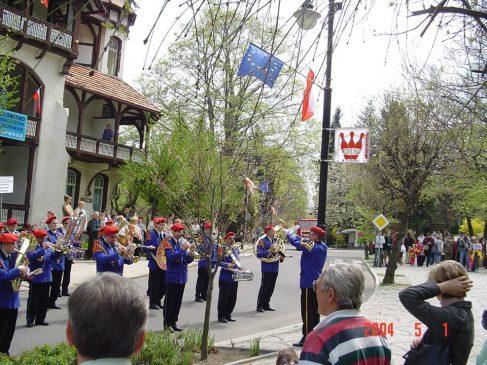 Nadanie nazwy Skwer Unii Europejskiej 1.05.2004